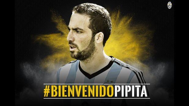 Gonzalo Higuaín nuevo jugador de Juventus por histórica cifra