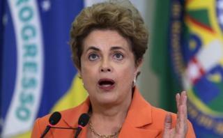 Dilma no irá a la ceremonia de apertura de los Juegos Olímpicos