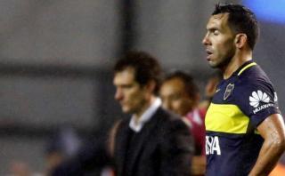 """Tevez: """"Luego de la eliminación de Boca pensé en retirarme"""""""