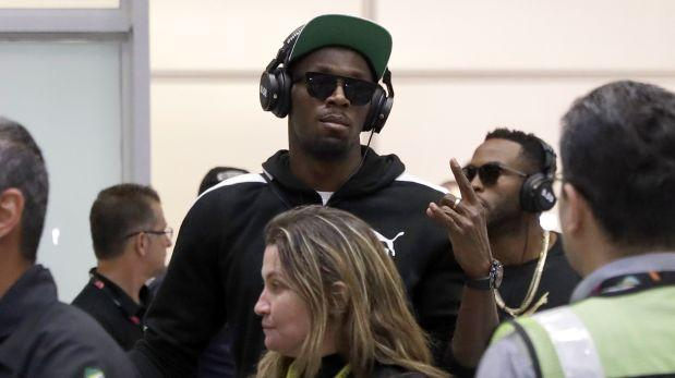 Juegos Olímpicos 2016: Usain Bolt arribó a Río de Janeiro