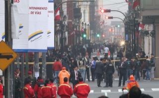 Fiestas Patrias: tránsito vehicular restringido en el Cercado