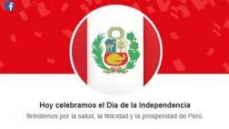 Facebook nos dio a los peruanos un regalo de Fiestas Patrias