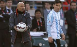 Jorge Sampaoli, el favorito de Messi para dirigir Argentina