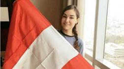 Facebook: Sasha Grey compartió este saludo por Fiestas Patrias