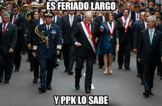 Fiestas Patrias: los divertidos memes que dejó este 28 de julio