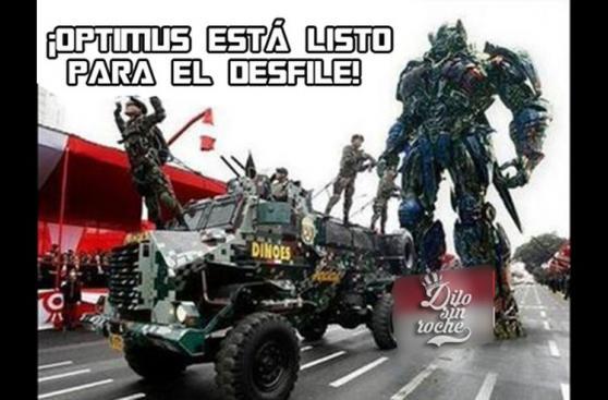 Los hilarantes memes que dejó la Gran Parada Militar [FOTOS]