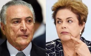 "Michel Temer: ""Creo que Dilma Rousseff será destituida"""
