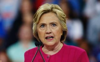 La acciones cayeron por investigación del FBI a Hillary Clinton