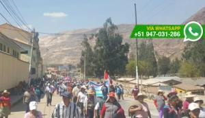 Cusco: bloquean acceso a Urubamba en segundo día de paro