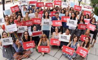 Campaña #NiUnaMenos recibe respaldo desde Washington