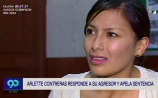 """Arlette responde: """"Da asco cómo trata de justificar agresión"""""""