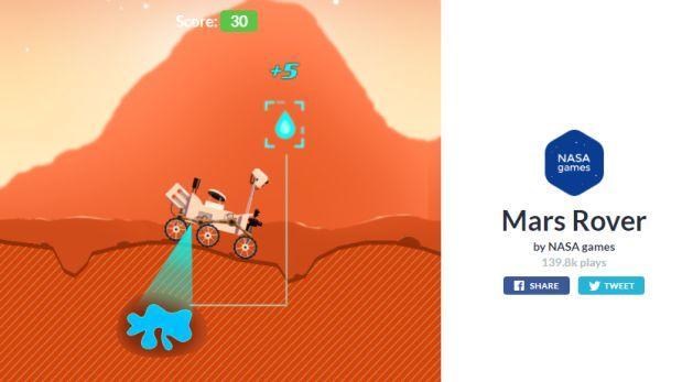 El juego con el que la NASA celebra los 4 años del Curiosity