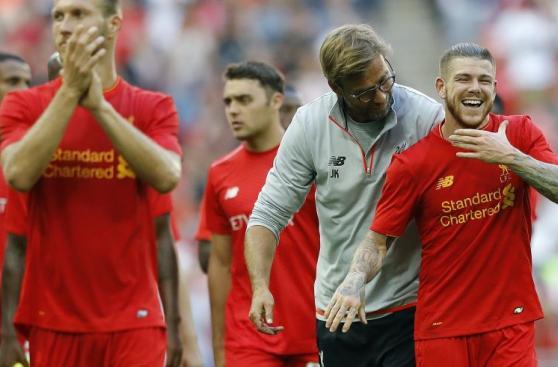 La euforia del Liverpool tras aplastar al Barcelona 00984985eb61f