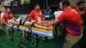 Gimnasta francés sufrió terrible lesión en Río 2016 [VIDEO]