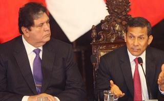 Alan García contra Humala: Su régimen fue de agendas y odio