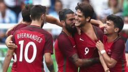 Portugal ganó 2-1 a Honduras y pasó a segunda fase en Río 2016