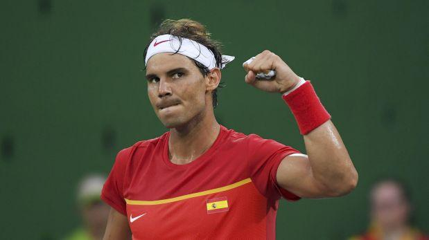Río 2016: Rafael Nadal arrolló en un debut a media máquina