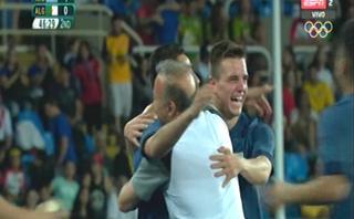 Río 2016: Ángel Correa anotó primer gol de Argentina en JJ.OO.
