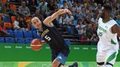 Argentina vs. Nigeria: debuta Scola en básquet por Río 2016