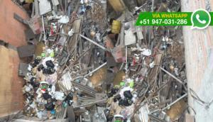 La Victoria: terreno abandonado es utilizado como basural