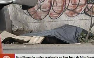 SJM: familia acusa a tío militar de madre asesinada