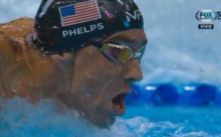 Michael Phelps clasificó a la final de los 200 metros mariposa