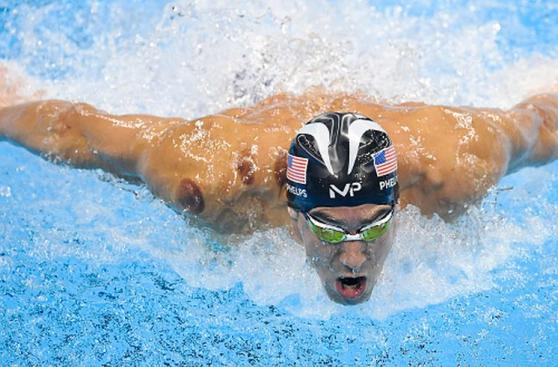Michael Phelps: así logró pase a final de 200 metros mariposa