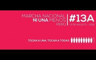 Ni Una Menos: ruta de la marcha contra la violencia a la mujer
