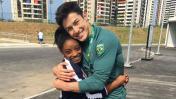 ¿La mejor gimnasta del mundo encontró el amor en Río 2016?