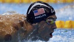 Michael Phelps ganó su oro número 21 en relevos 4x200 libres