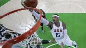 Estados Unidos venció 98-88 a Australia en duro partido por Río