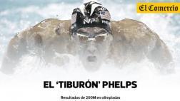 Michael Phelps y sus históricas 21 medallas de oro en JJ.OO.