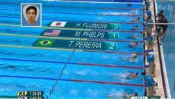 Río 2016: el Fujimori que compitió con Michael Phelps