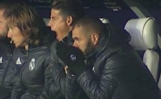 Real Madrid: el bostezo de James Rodríguez que dará qué hablar