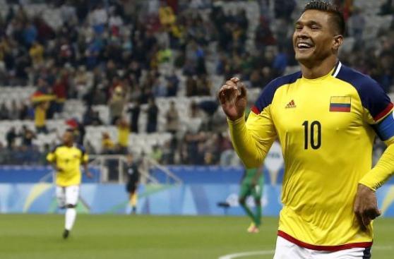 Colombia: Teófilo Gutiérrez marcó en primer ataque ante Nigeria