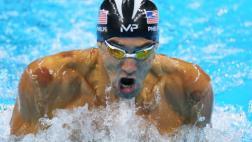 Michael Phelps ganó cuarto oro y avanzó a final 100m mariposa