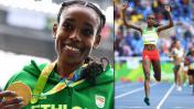Río 2016: etíope Almaz Ayana pulverizó récord mundial 10 mil m.