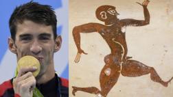 El atleta que perdió ante Phelps su récord de 2.000 años