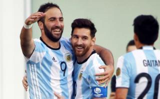 Argentina: Bauza dio primera lista con Messi y sin Higuaín