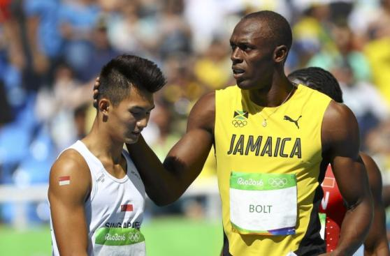 Usain Bolt: las fotos de su primer 'paseo' en Juegos Río 2016