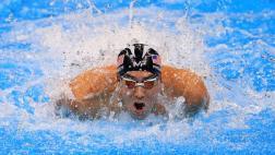Michael Phelps obtuvo su quinta medalla de oro en Río 2016