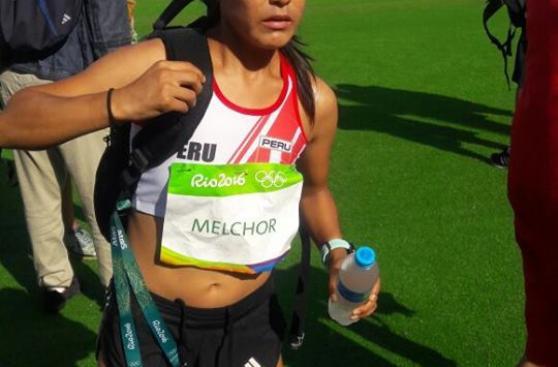 Río 2016: Inés Melchor explica por qué se retiro de la maratón