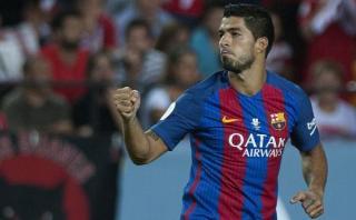 Barcelona: Luis Suárez anotó tras pase con el pecho de Turan