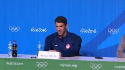 Río 2016: el primer día de Michael Phelps en el retiro