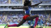Caterine Ibargüen ganó el oro en salto triple para Colombia