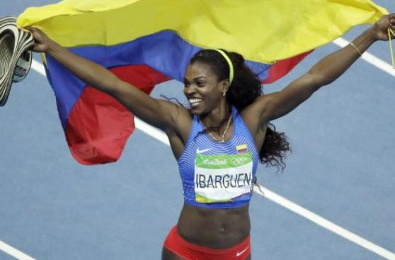 Caterine Ibargüen, la colombiana reina del carnaval de Río 2016