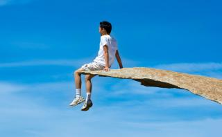Ilusión óptica: Conoce esta singular roca ideal para las fotos