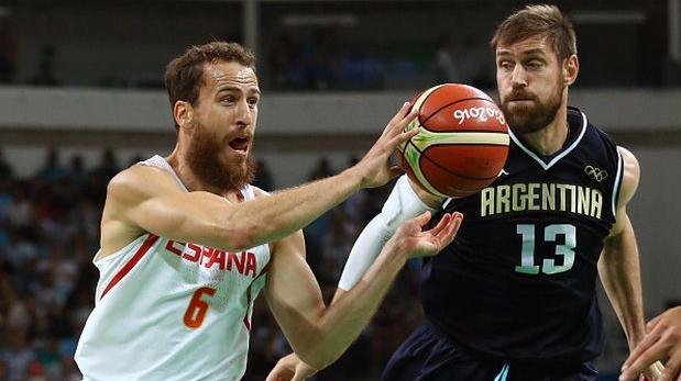 Argentina cayó 73-92 ante España en baloncesto en Río 2016