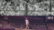 La gimnasia artística en los Juegos Olímpicos del ayer