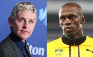 Ellen DeGeneres negó racismo tras este 'tuit' sobre Usain Bolt